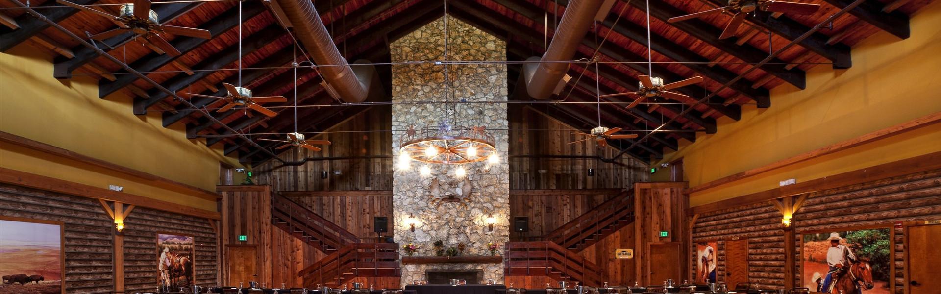 A Unique Outdoor Rustic Wedding Reception Venue | Hall At River Ranch