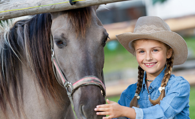 Florida Dude Ranch Resort near Orlando | Girl With Pony