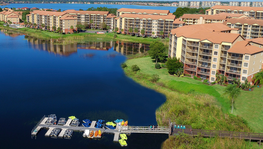 Aerial view of Westgate Lakes Resort & Spa