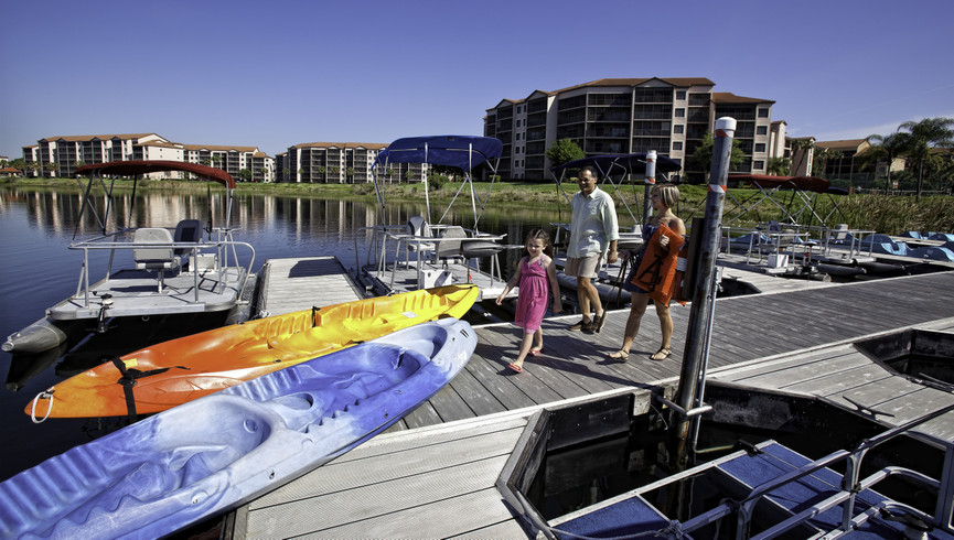 Boating Photo of our Orlando Florida Resort | Pictures of Westgate Lakes Resort & Spa