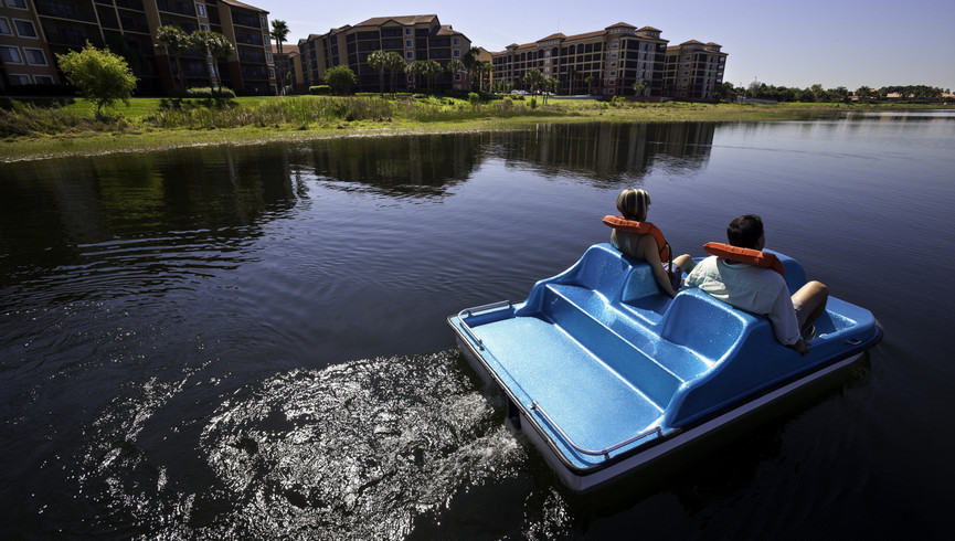Paddleboats Photo of our Orlando Florida Resort | Pictures of Westgate Lakes Resort & Spa