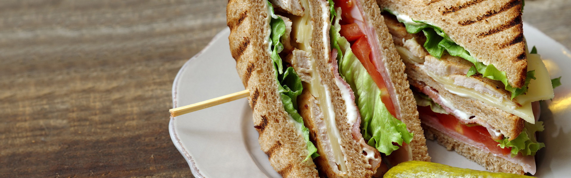 Tasty sandwich from room service at Westgate Lakes | Westgate Lakes Resort & Spa