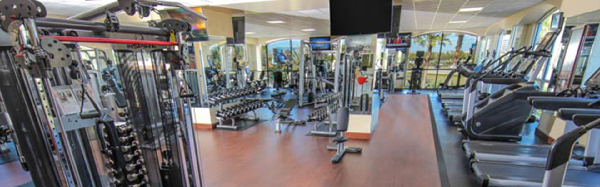 Orlando Hotel Fitness Center | Workout Room