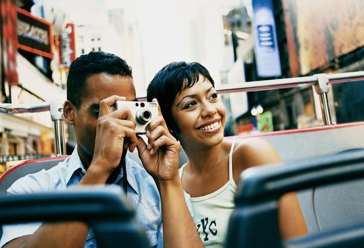 New York City Tourist Couple