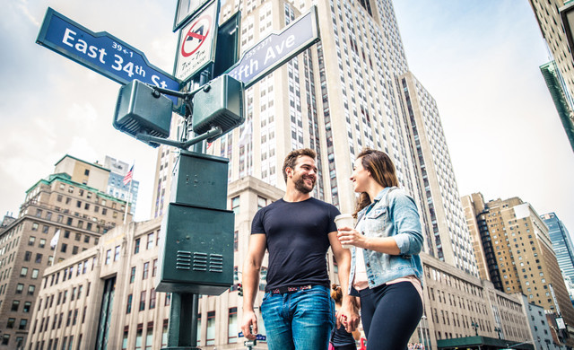 Couple Planning Their Day in NYC | Westgate New York Grand Central Hotel | Things To Do Near Grand Central