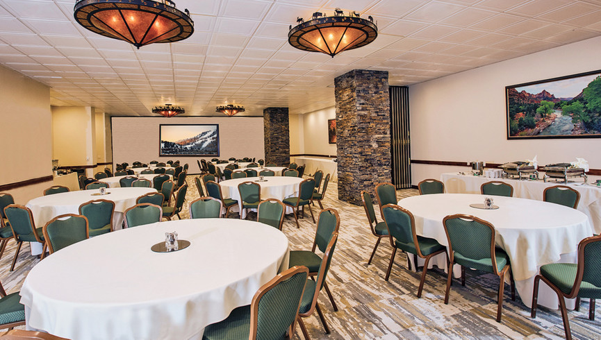 Park City Meeting Space For Weddings and Groups at our Utah Hotel and Ski Resort | Bison Ballroom