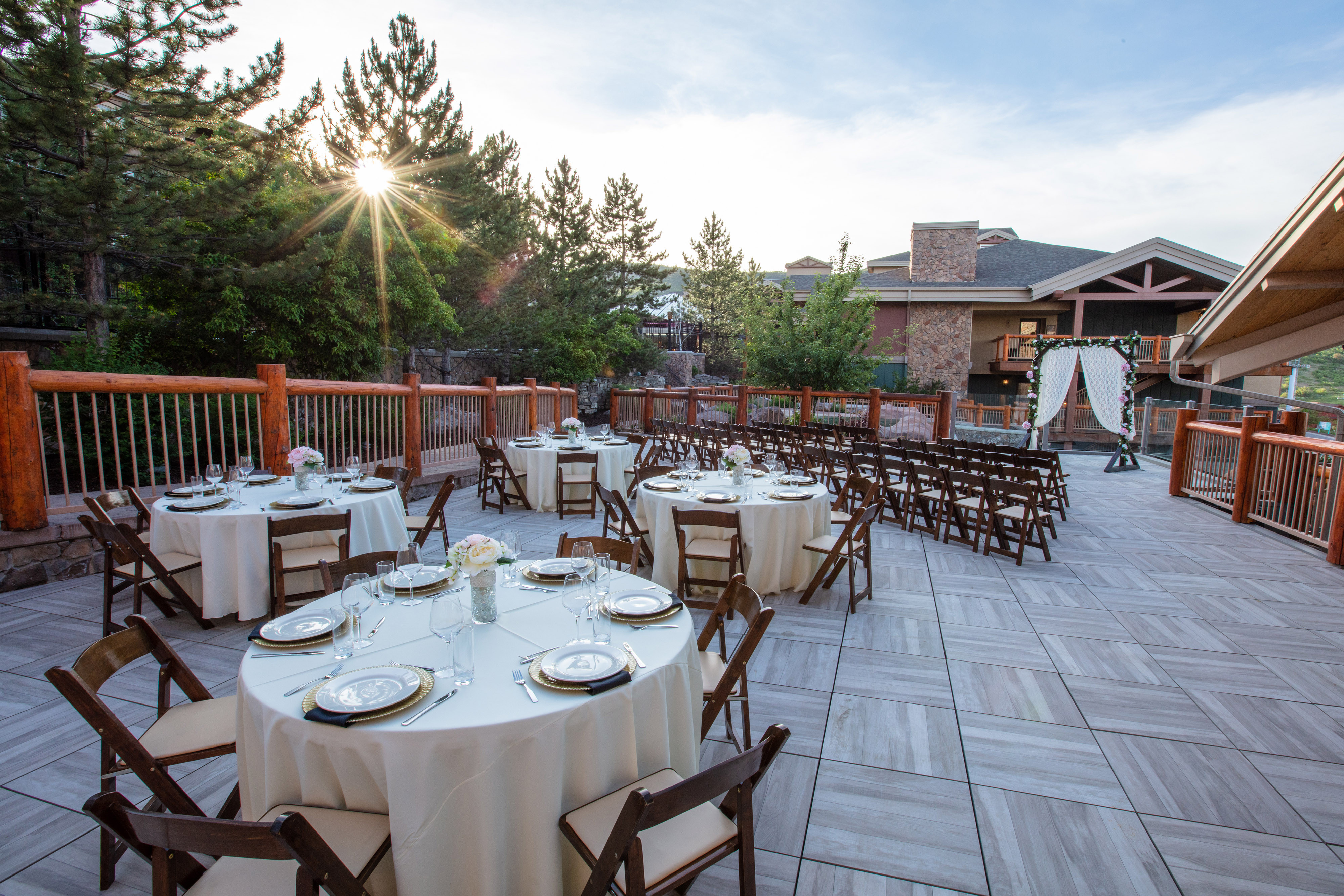 Park City Meeting Venues at our Utah Hotel and Ski Resort | Outdoor Wedding Space