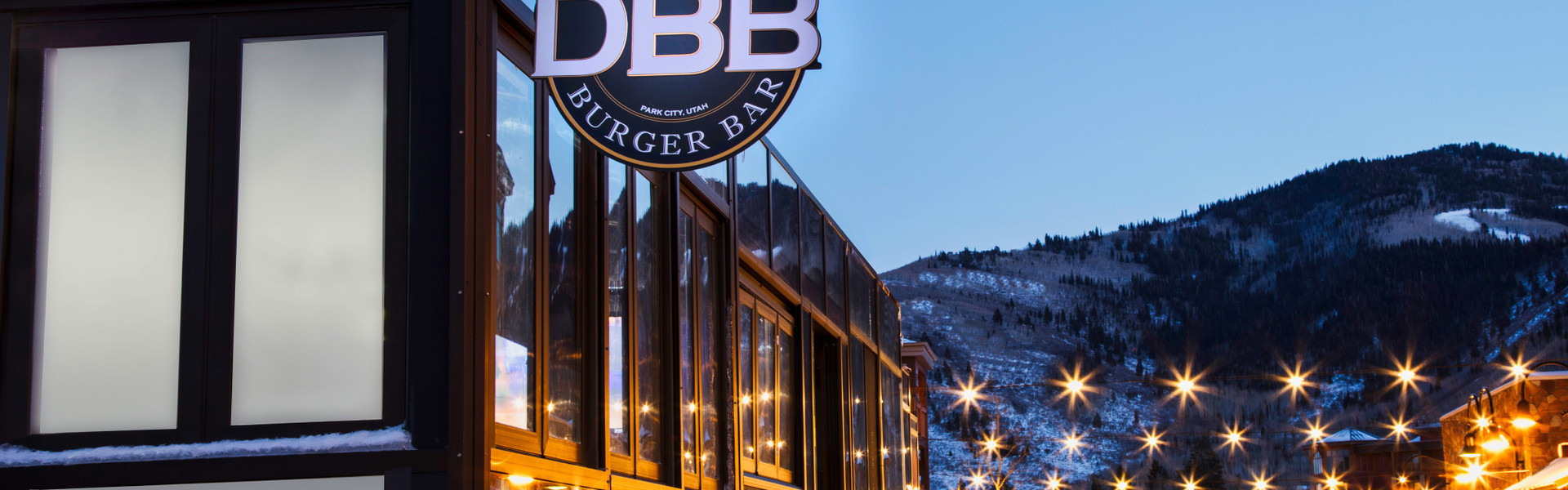 Outside the best burger bar in Park City | Menu For Drafts Burger Bar Park City | Westgate Park City Resort & Spa