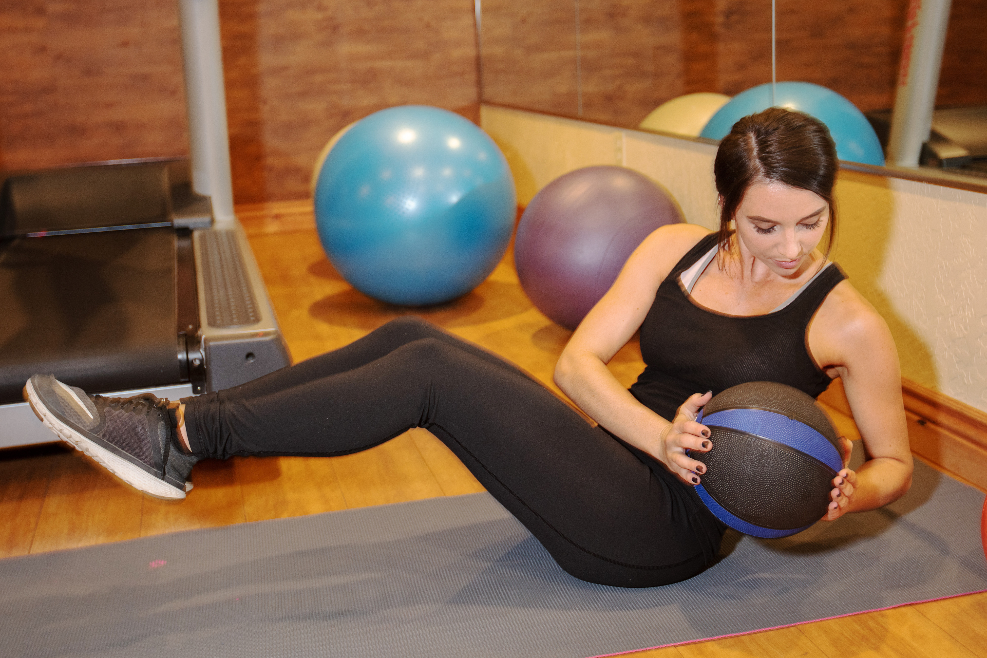 Guest working out at the fitness center - Westgate Park City Resort