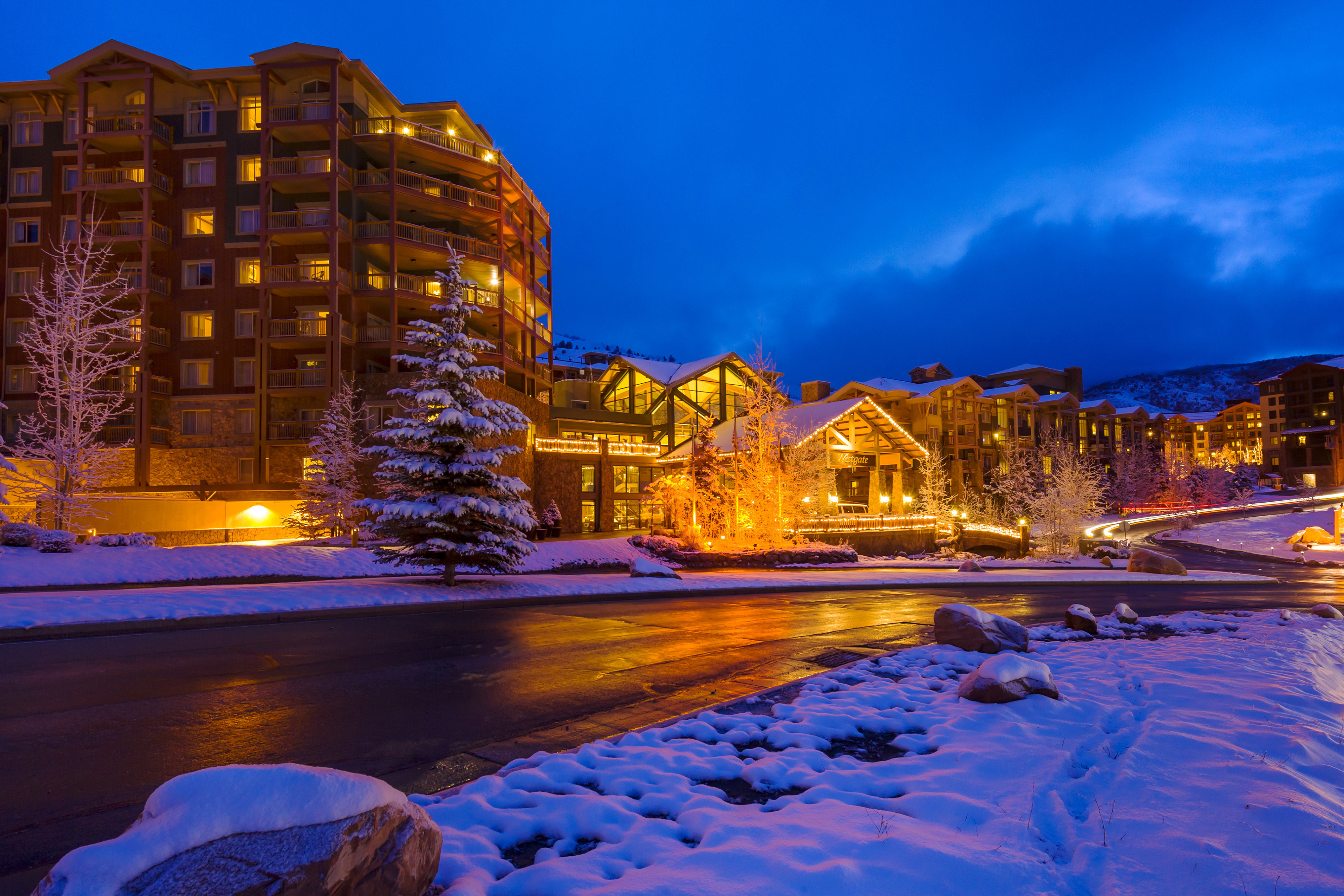 Best Things To Do At Night In Park City Utah | Night At Our Hotel In Park City