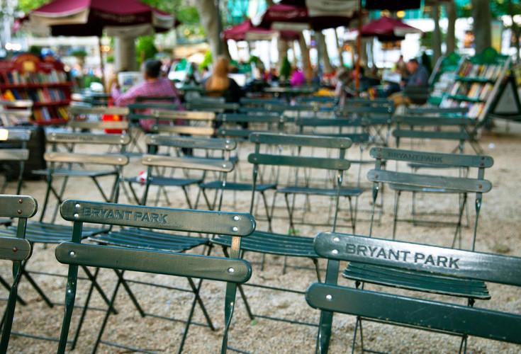 Bryant Park Play Park Seats