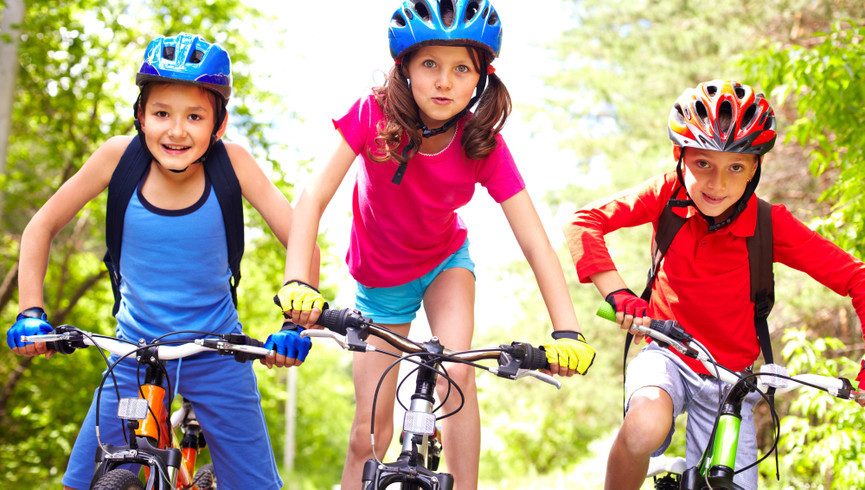 Kids Biking Outdoors | Westgate Branson Woods Resort