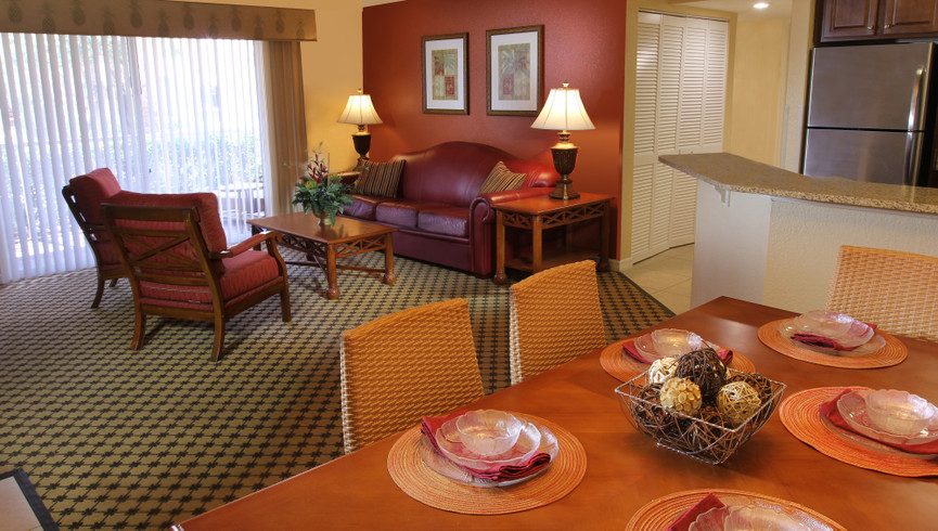 Take a virtual tour of the Two-Bedroom Deluxe Villa at Westgate Blue Tree Resort.