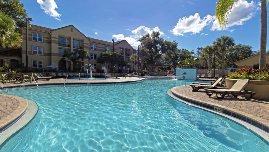 Pool at Our Resorts in Lake Buena Vista Florida | Resorts Near Sea World in Lake Buena Vista, FL 32836 | Westgate Blue Tree Resort