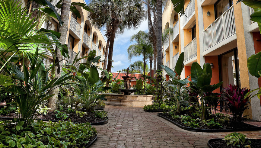 Kissimmee hotel near Disney's Blizzard Beach and Hollywood Studios | Outside Westgate Towers Resort