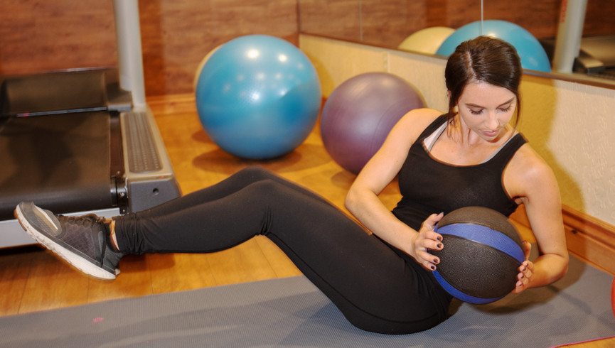 Woman working out at the Fitness Center | Westgate Park City Resort