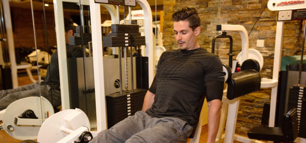 Man working out at the Fitness Center | Westgate Park City Resort