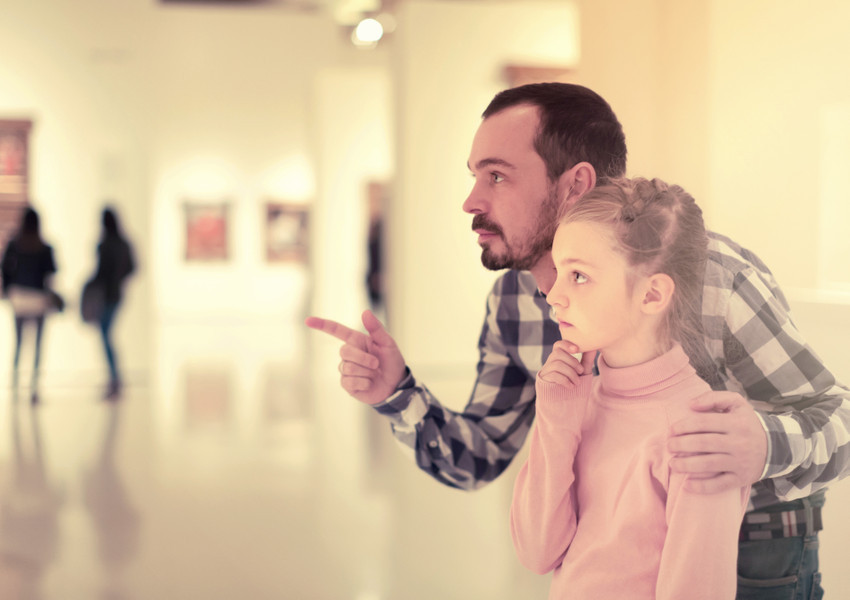 NYC Museum Father Daughter | Westgate New York Grand Central