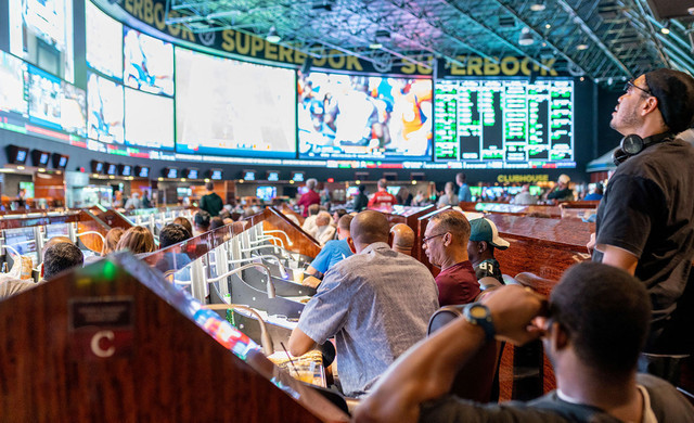 SuperContest at our Las Vegas Hotel and Casino | Large Screens at SuperBook