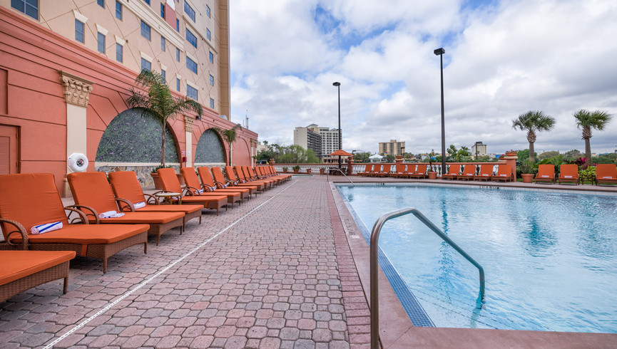 Poolside Pictures of Orlando Florida Hotels | Westgate Palace Orlando | Resorts Near International Drive, Orlando, FL 32819
