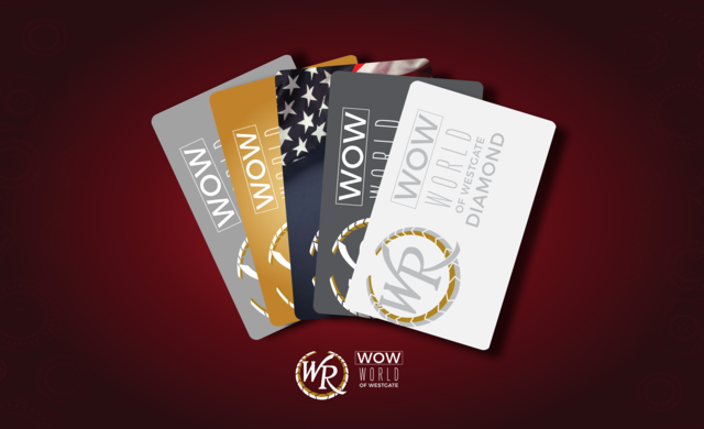 WOW Rewards Members get big rewards for choosing the Las Vegas casino games and game tables at Westgate Las Vegas Resort & Casino