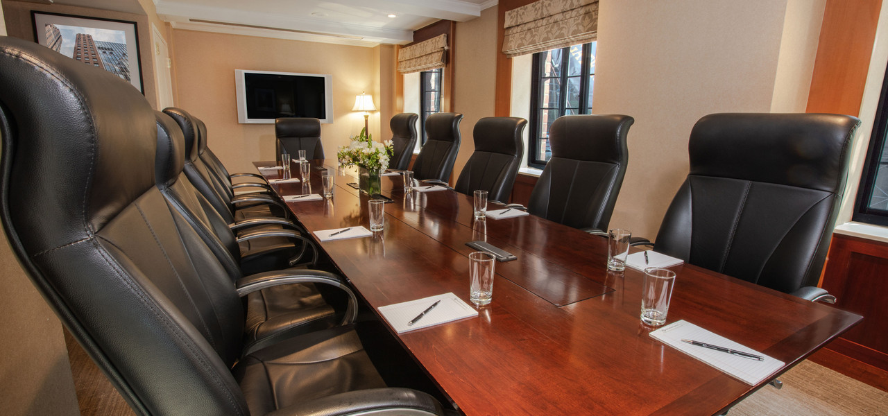 Boardroom at our hotel Near Grand Central Terminal NYC | Westgate New York Grand Central Hotel