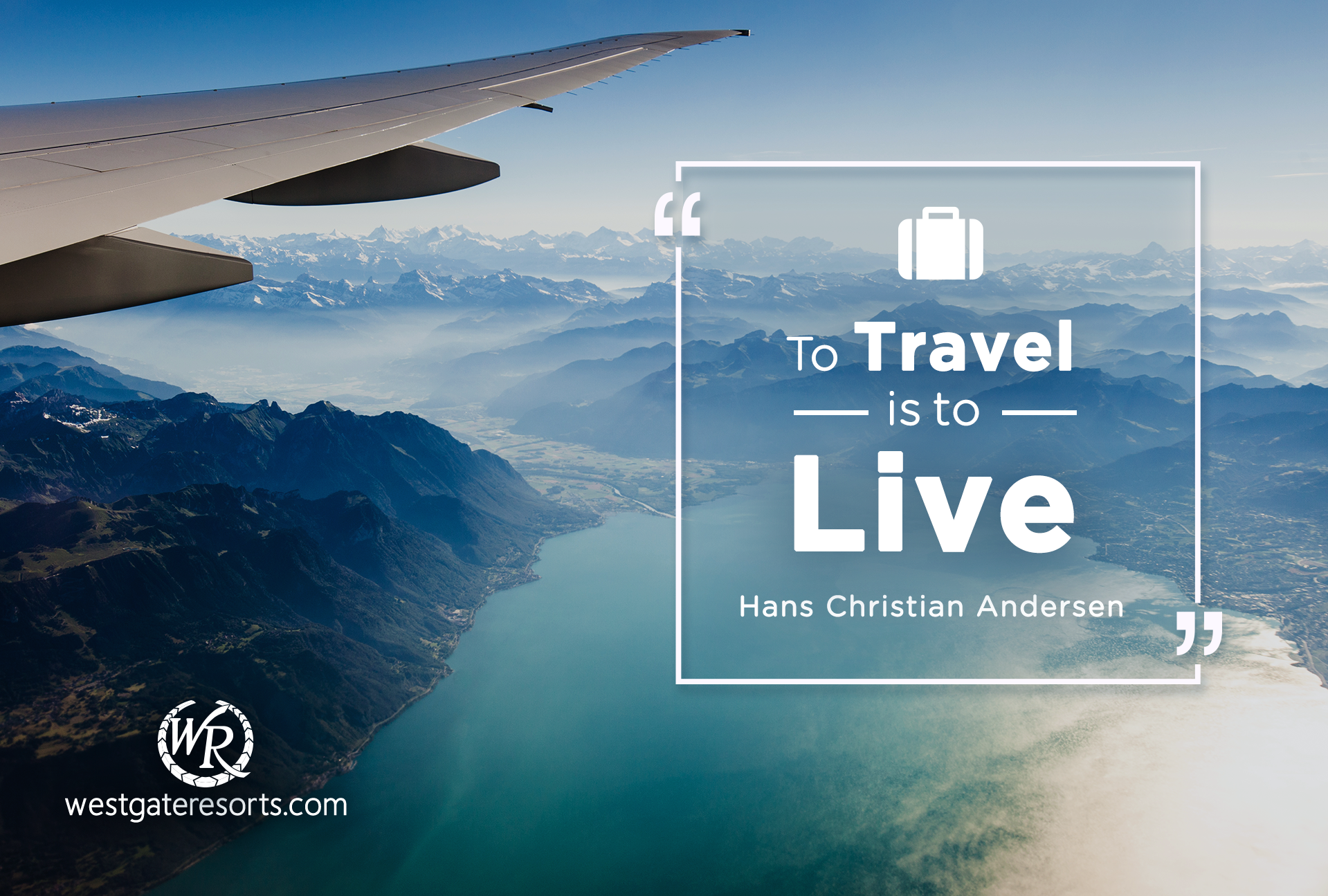 To Travel is to Live. – Hans Christian Andersen | Travel Motivational Quotes