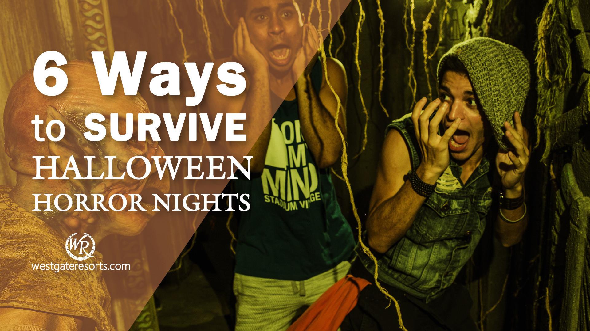 6 Ways to Survive Halloween Horror Nights Wait Times in Orlando for 2018   Westgate Resorts