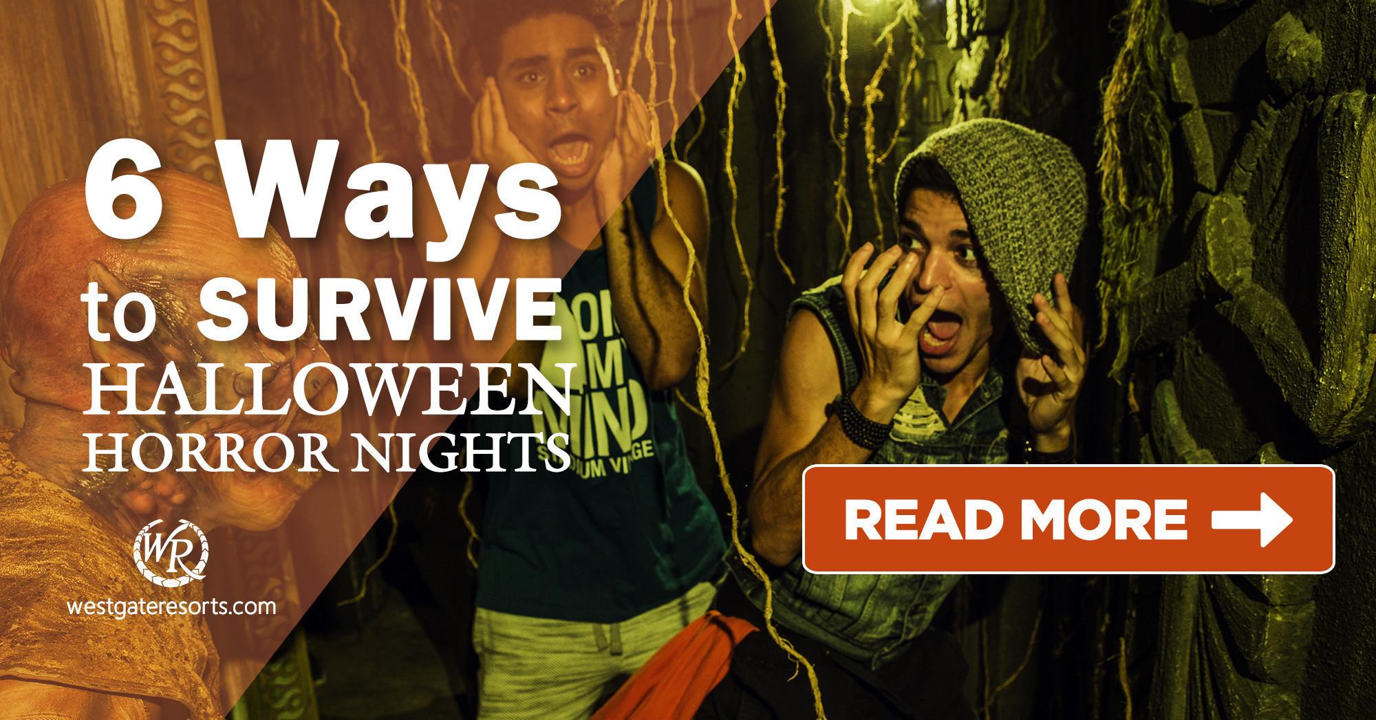6 Ways to Survive Halloween Horror Nights Wait Times in Orlando for 2018 | Orlando Trip Guide | Westgate Orlando Resorts