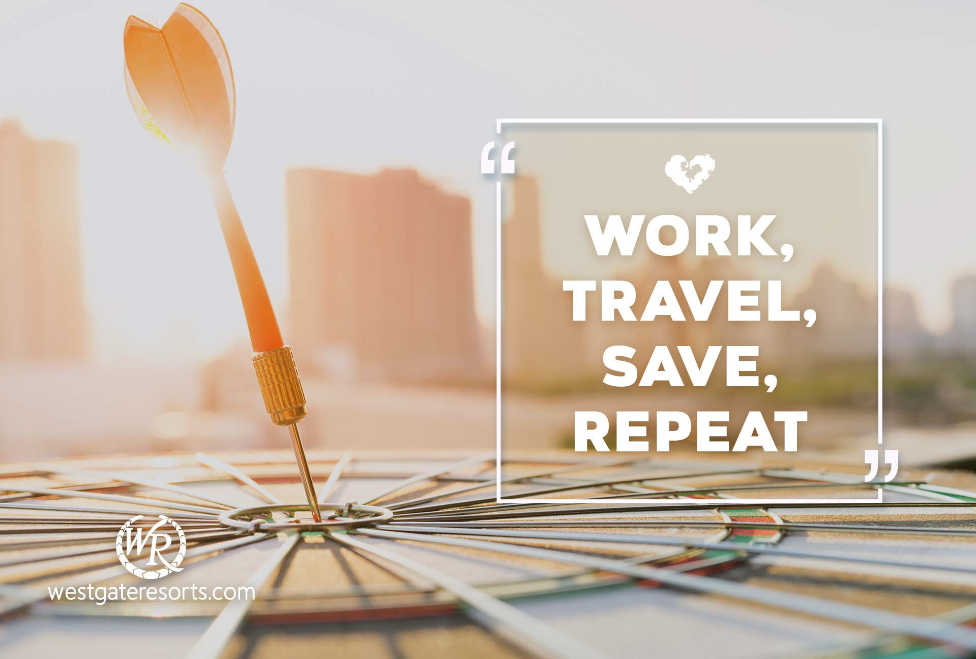 Work, Travel, Save, Repeat. | Travel Motivational Quotes