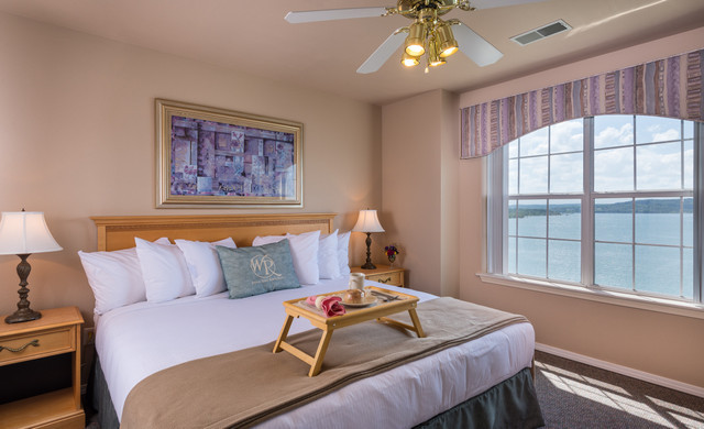 Activities at Branson Table Rock Lake Resort | Villa Bedroom with View of Table Rock Lake