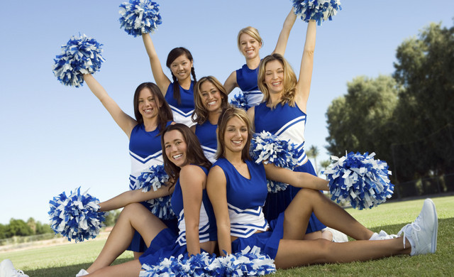 Activities at Branson Table Rock Lake Resort | Cheerleaders at Resort