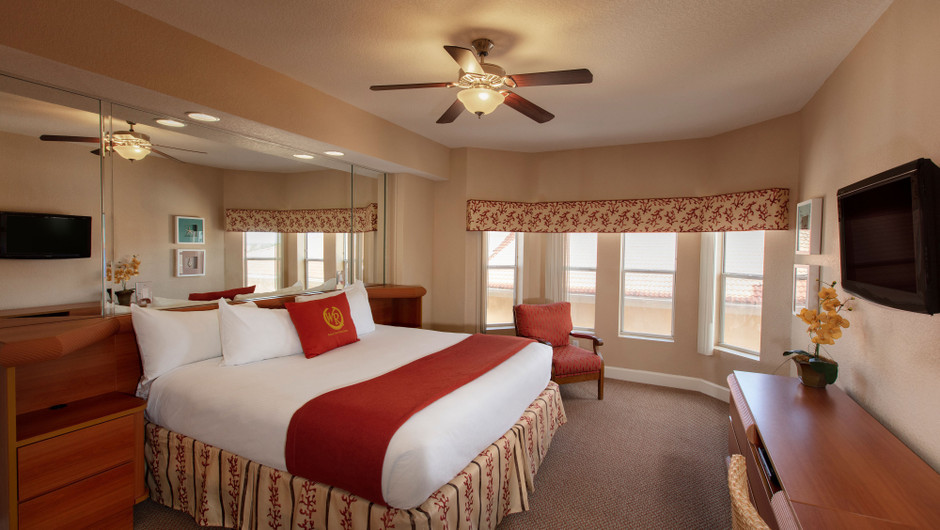 Bedroom in our Two Bedroom Villa - Westgate Town Center Resort