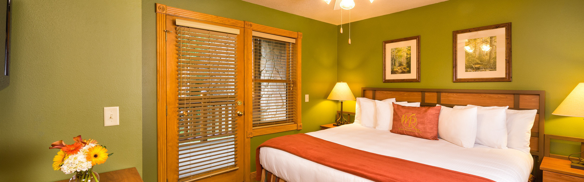 1 Bedroom Suites at Our Gatlinburg Resort near the Smoky Mountains | Spacious Bedroom