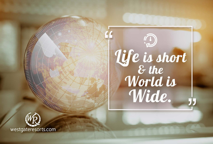 Life is Short and The World is Wide | Simon Raven | Motivational Travel Quotes