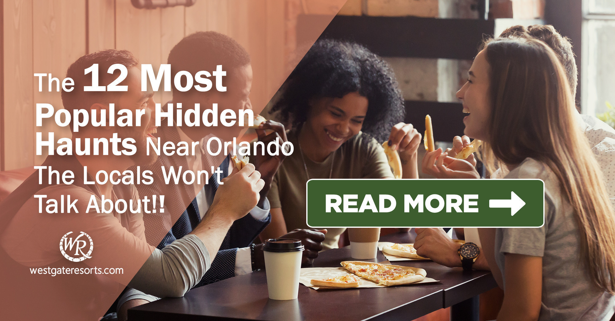 The 12 Most Popular Hidden Haunts Near Orlando the Locals Won't Talk About! | Orlando Trip Guide | Westgate Orlando Resorts