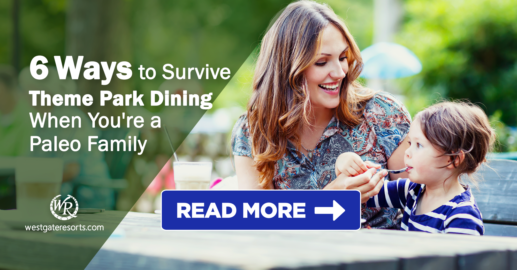 6 Ways to Survive Theme Park Dining When You're a Paleo Family | Traveling Paleo Famlies | Healthy Eating While On Vacation