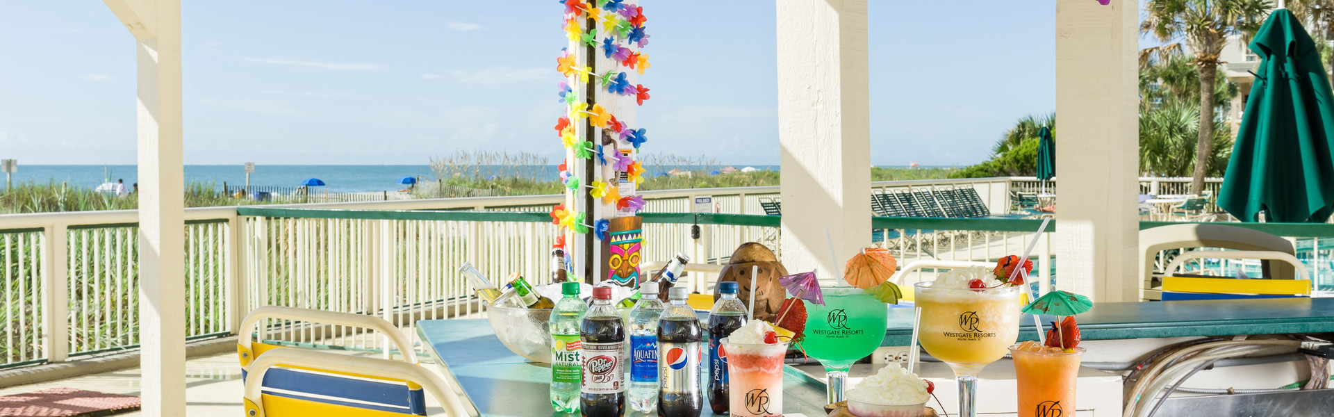 Pool Bar at our Myrtle Beach Oceanfront Hotel | Coconut Willy's Pool Bar