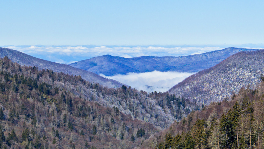 Gatlinburg Resort near the Smoky Mountains | Winter Mountains