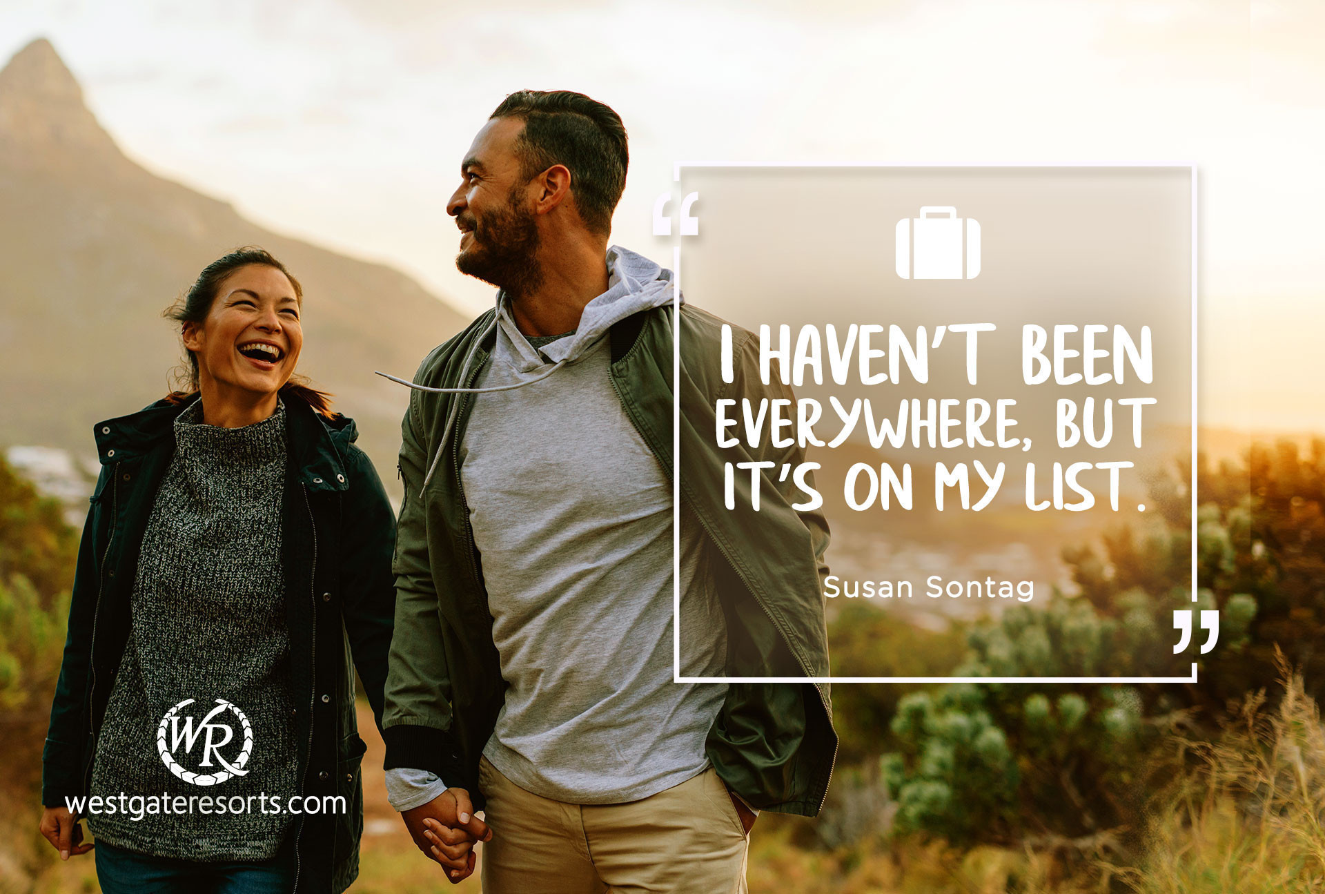 I Haven't Been Everywhere, But It's On My List. | Travel Motivational Quotes | Quotes About Travel by Susan Sontag