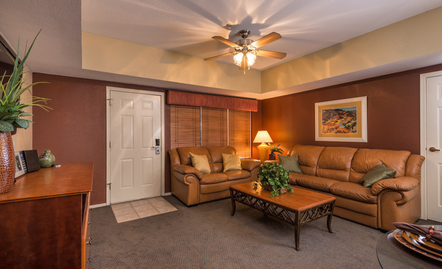 Westgate Painted Mountain Golf Resort accommodations include studios, one bedroom and two bedroom villas.