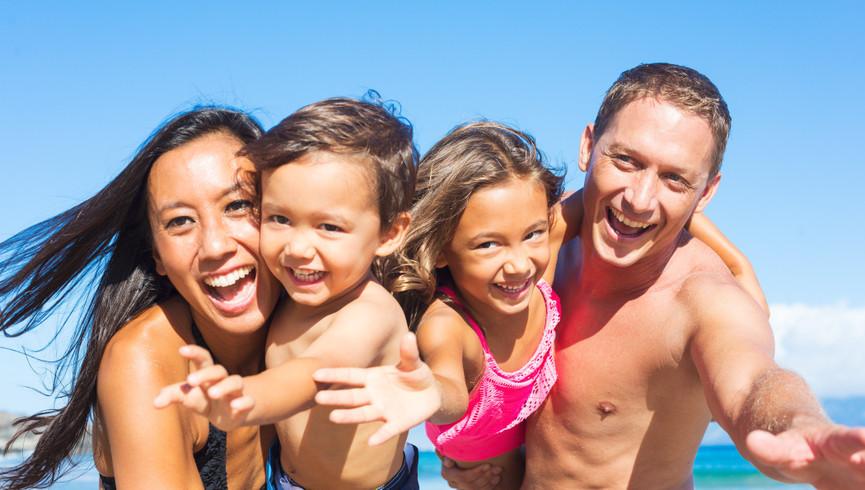 Cocoa Beach Oceanfront Hotel near Cocoa Beach and Westgate Cocoa Beach Pier | Happy Family