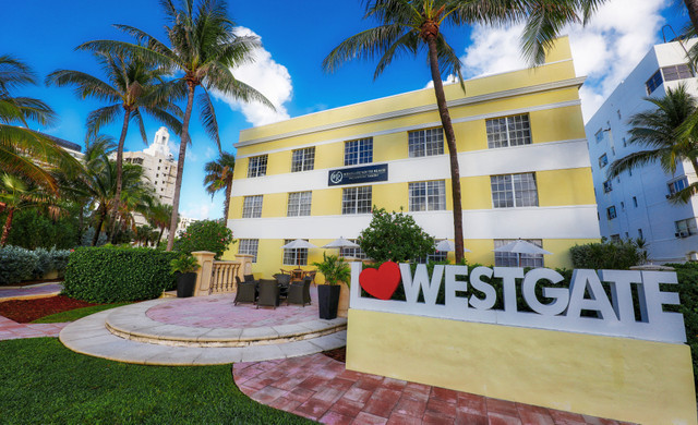 Exterior view of Westgate South Beach
