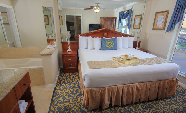 Room at one of our Resorts in Orlando Florida | Resorts on International Drive Orlando, FL | Westgate Palace Resort