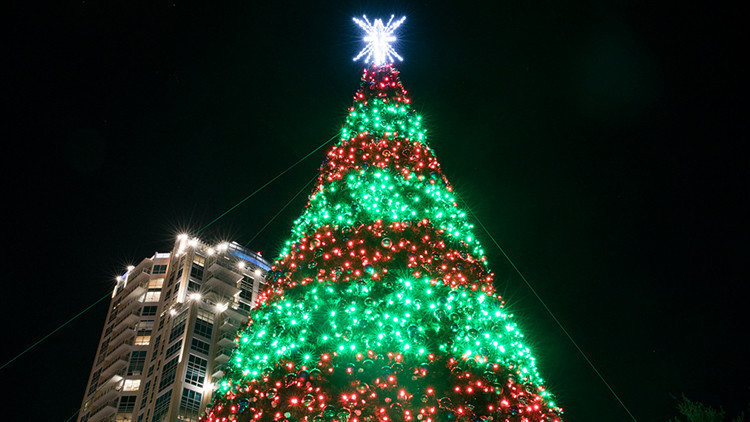 City of Orlando Tree Lighting Celebration  | 10 of the Best Free Christmas Events in Orlando | Holiday Activities Near Orlando, FL