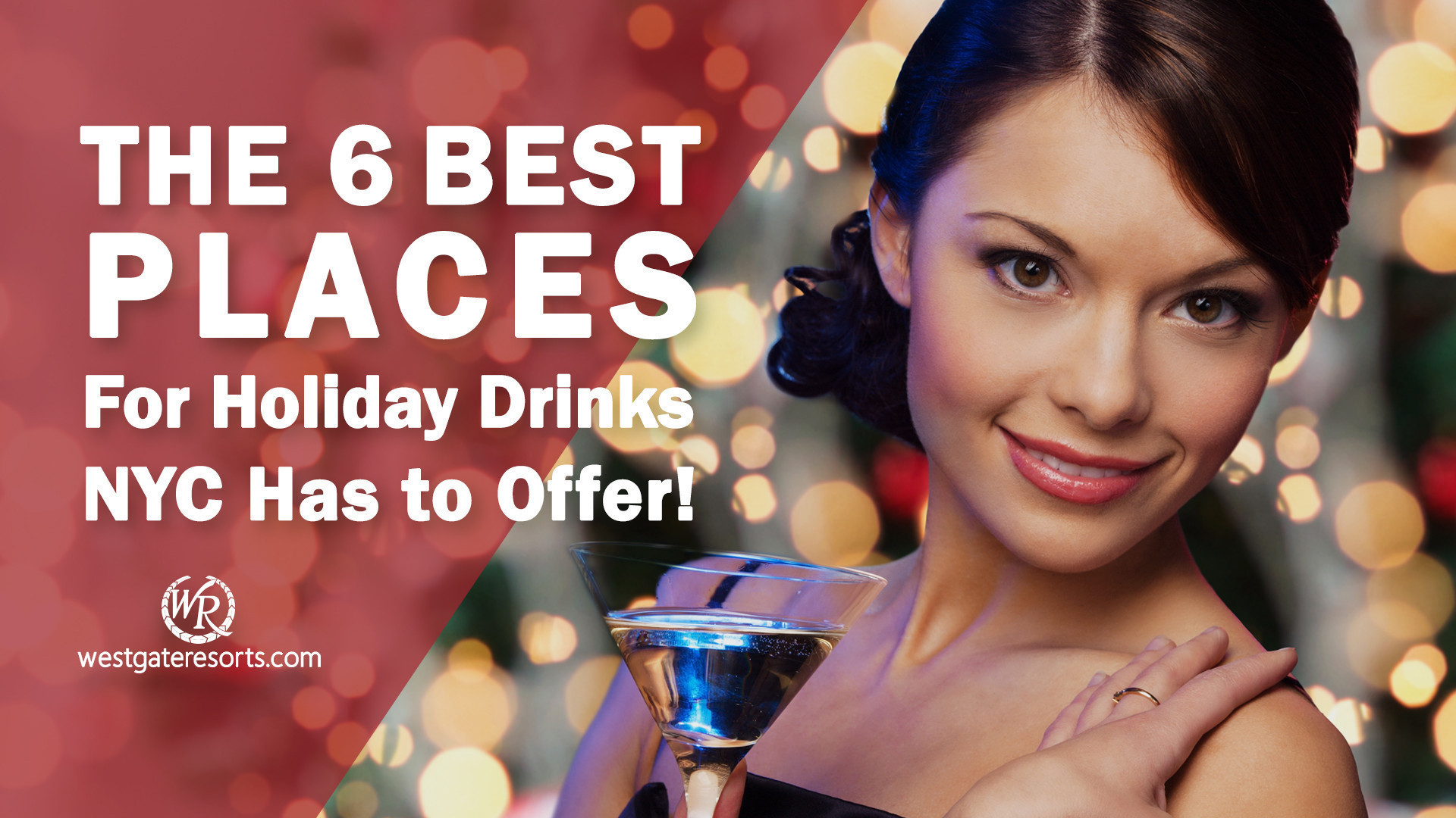 The 6 Best Places for Holiday Drinks NYC Has to Offer! | Holiday Cocktail Lounges in Midtown East Manhattan
