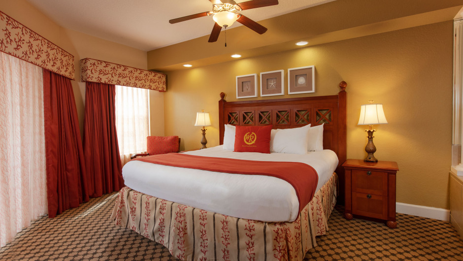 Bedroom in our Four Bedroom Presidential Villa - Westgate Town Center Resort