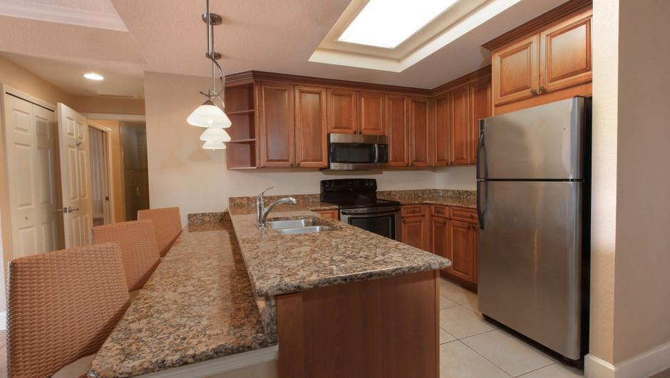 Kitchen in our Four Bedroom Presidential Villa - Westgate Town Center Resort