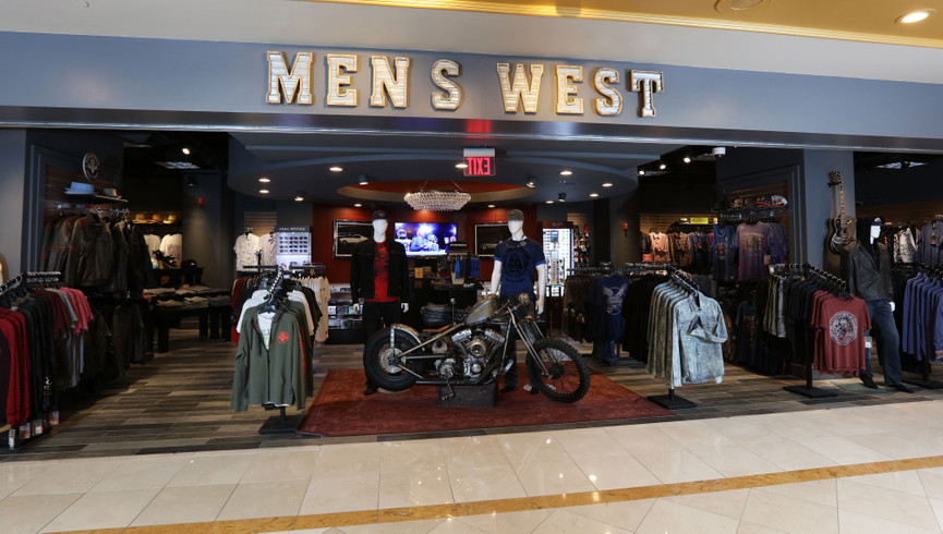 Shopping at our Las Vegas Hotel and Casino | Mens West Menswear