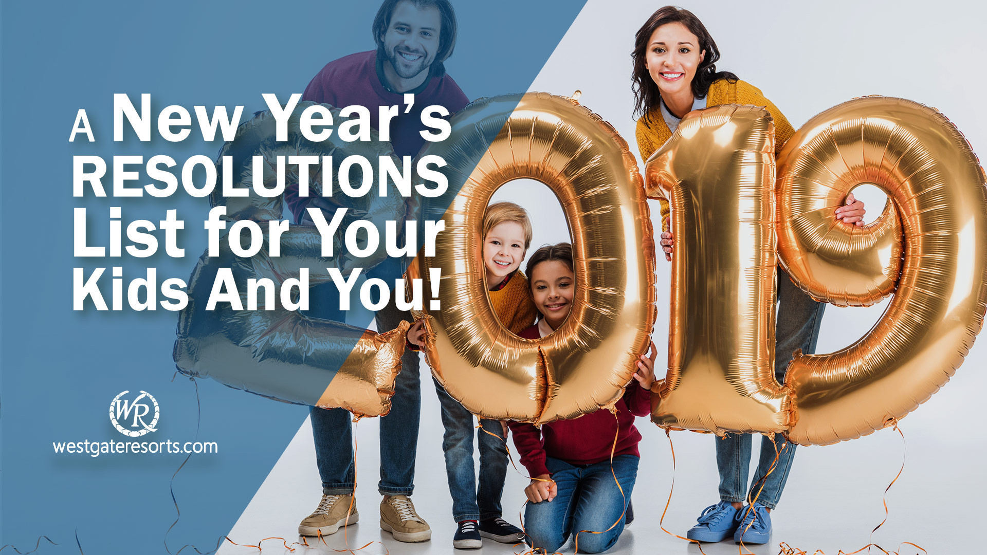 A New Year's Resolution List for Your Kids And You! | New Years Resolution Ideas For The Family